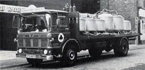 Beer tanker used by the Northern Clubs Federation Brewery in Newcastle upon Tyne in 1970