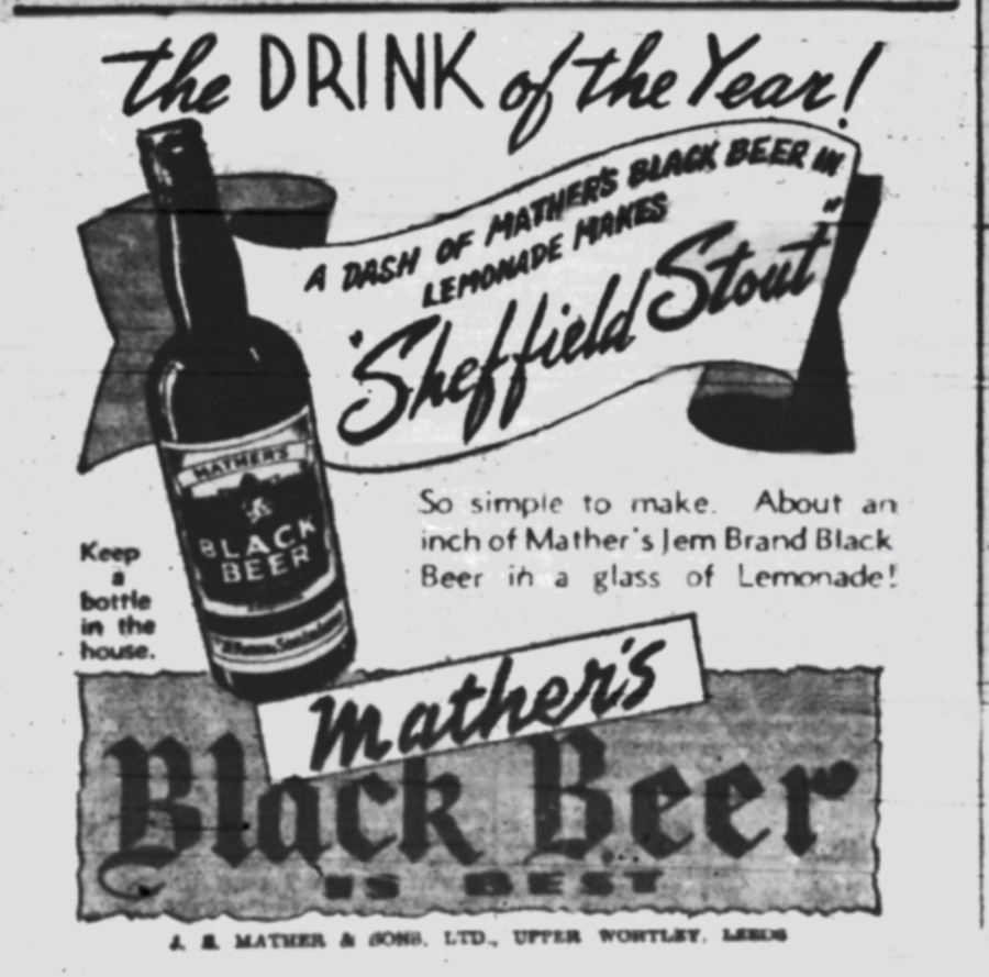 Mather's Sheffield Stout 1945