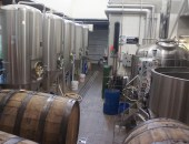 Old Rail's brewing room