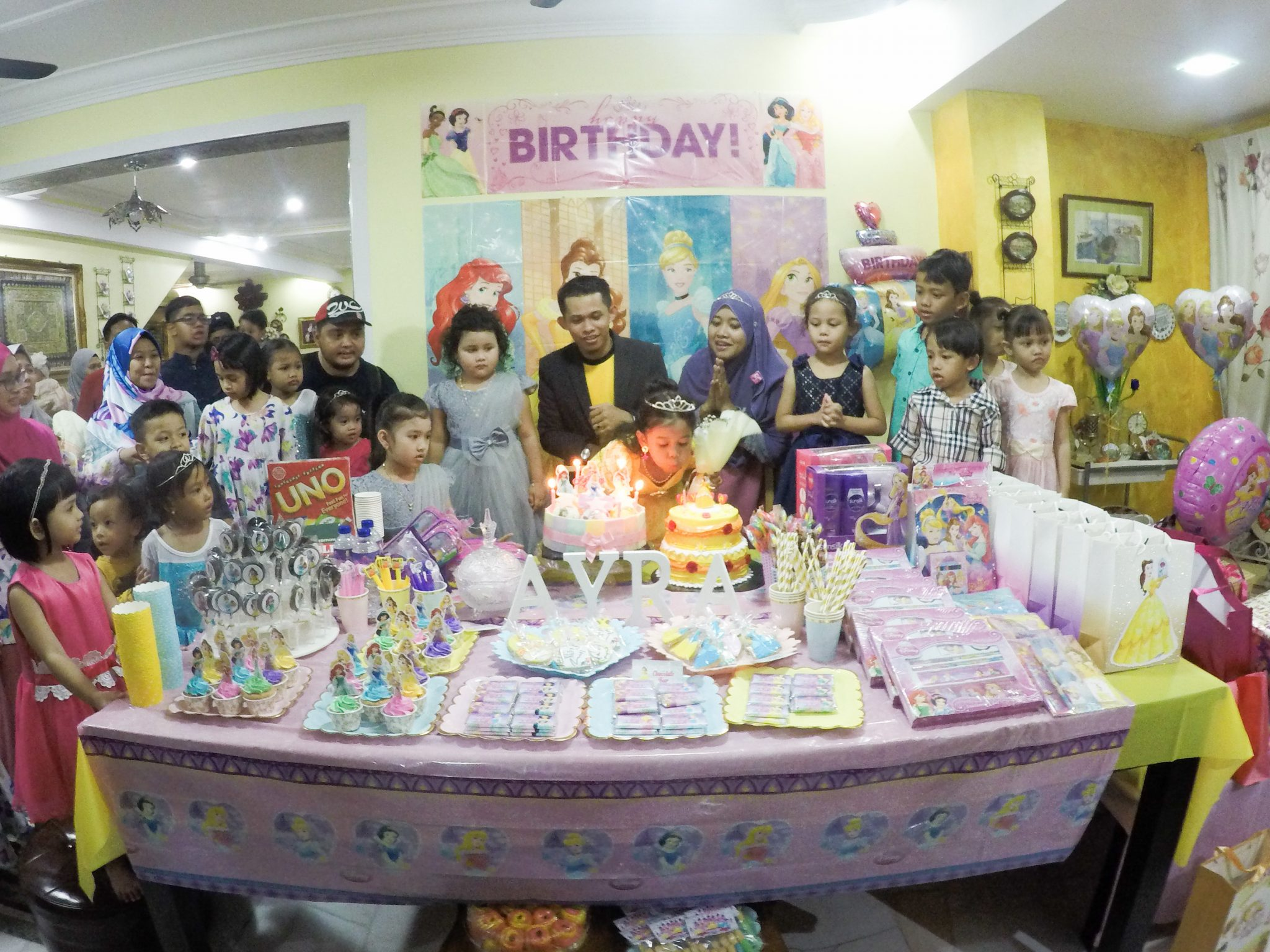 Princess Ayra 5th Birthday Bash
