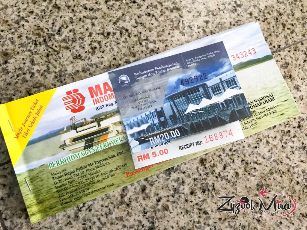6 Tips Membeli Tiket Feri Melaka Dumai