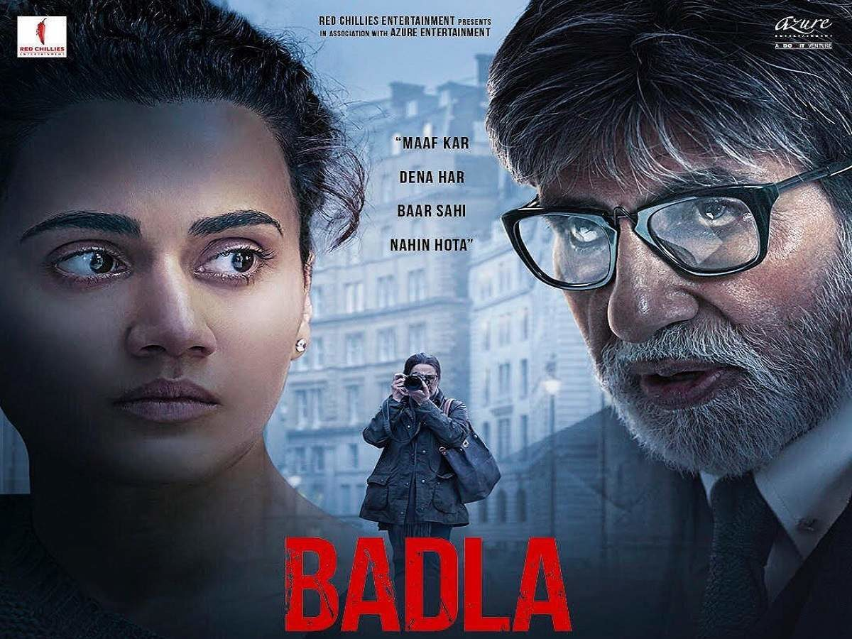 Review Filem Badla 2019