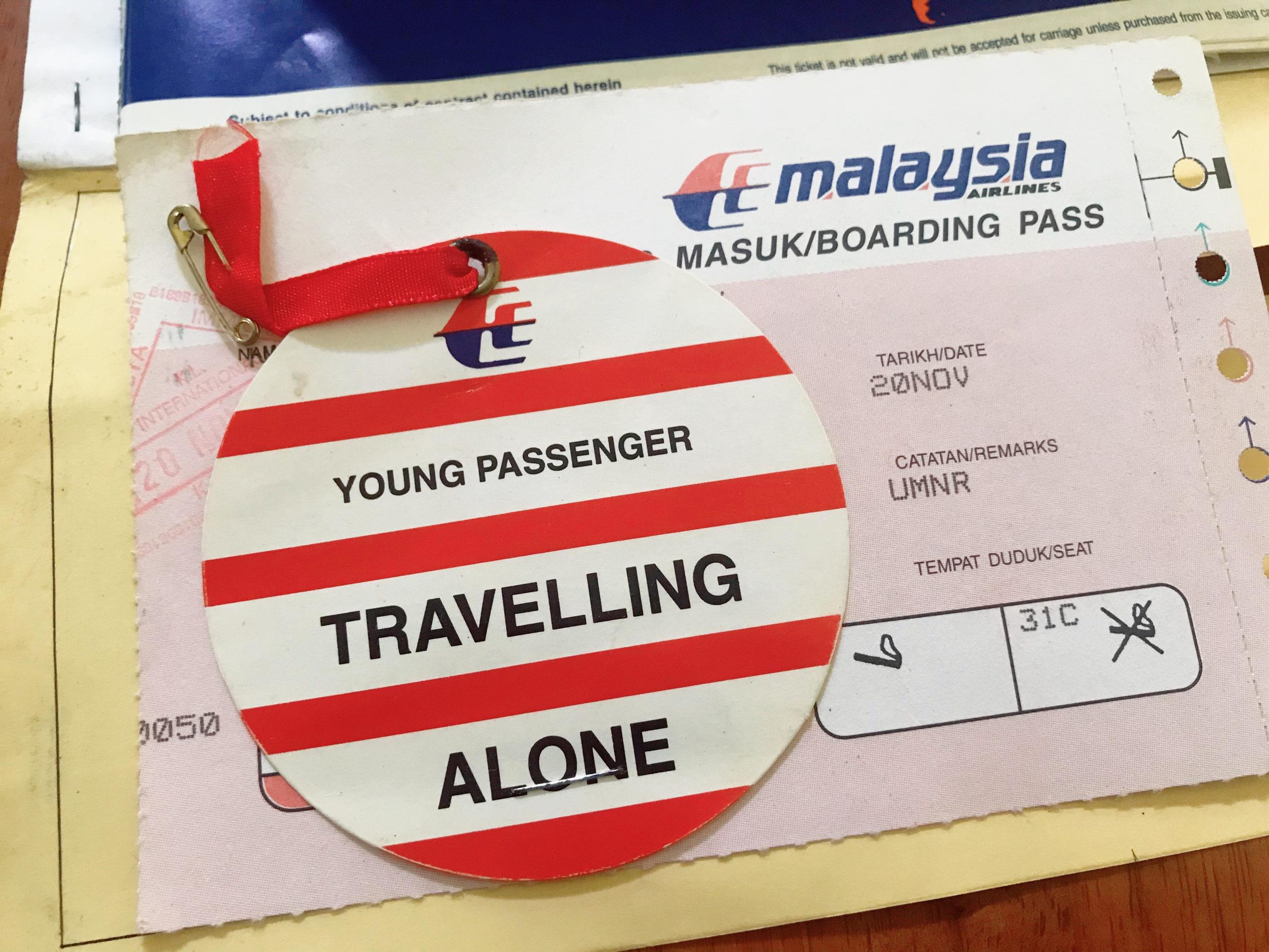 Pengalaman menjadi Young Passenger Travelling Alone (YPTA)