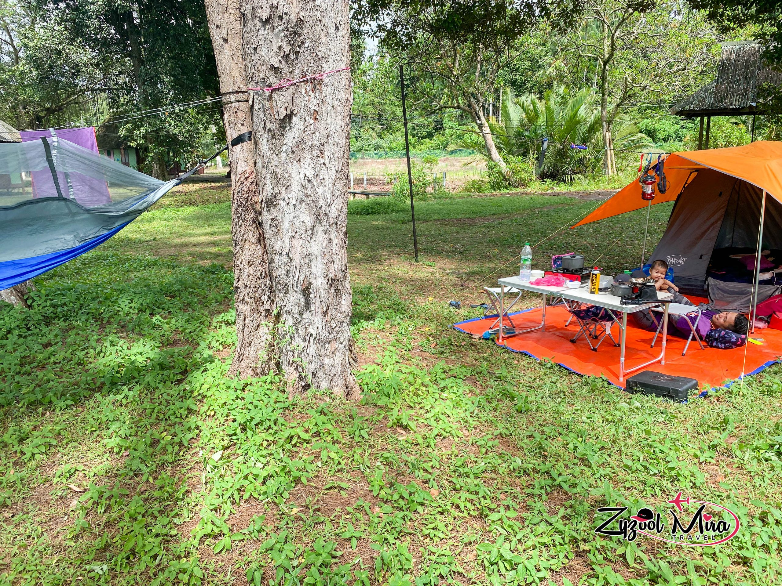 Camping di Jason Bay Beach Resort
