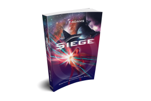 Image of Siege, Prologue to the Zero-Point Awakening action-packed sci-fi series by ZZ Adams