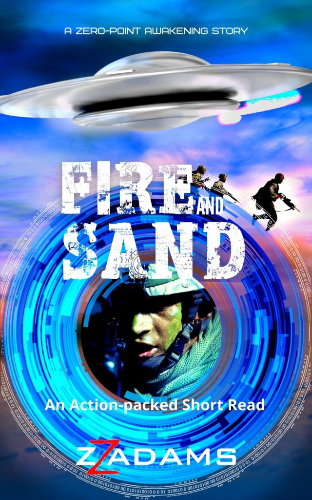 Book Cover: Fire and Sand