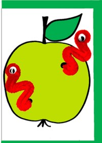 Pipecleaner-Apple-1809 - ZZ designs