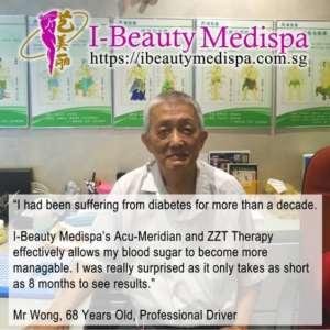 managing diabetes Testimonial