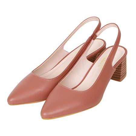 大容量6cm美型尖頭氣墊高跟鞋Pumps - Bonjour女人愛買鞋