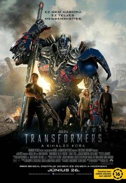 Transformers_a_kihalas_kora_poszter